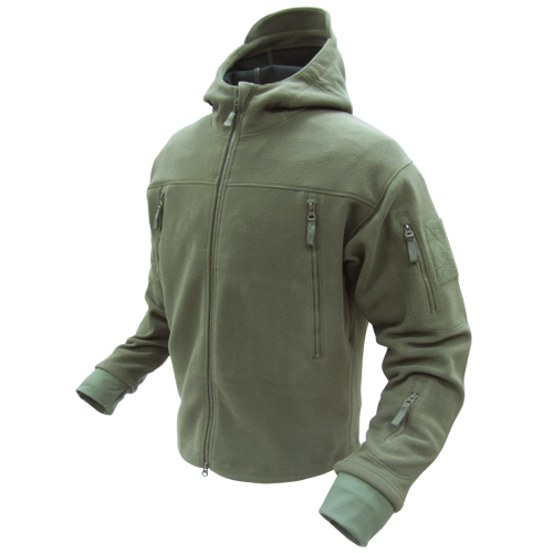 Condor Sierra Hooded Fleece Jacket – Olive Drab | This and That ...