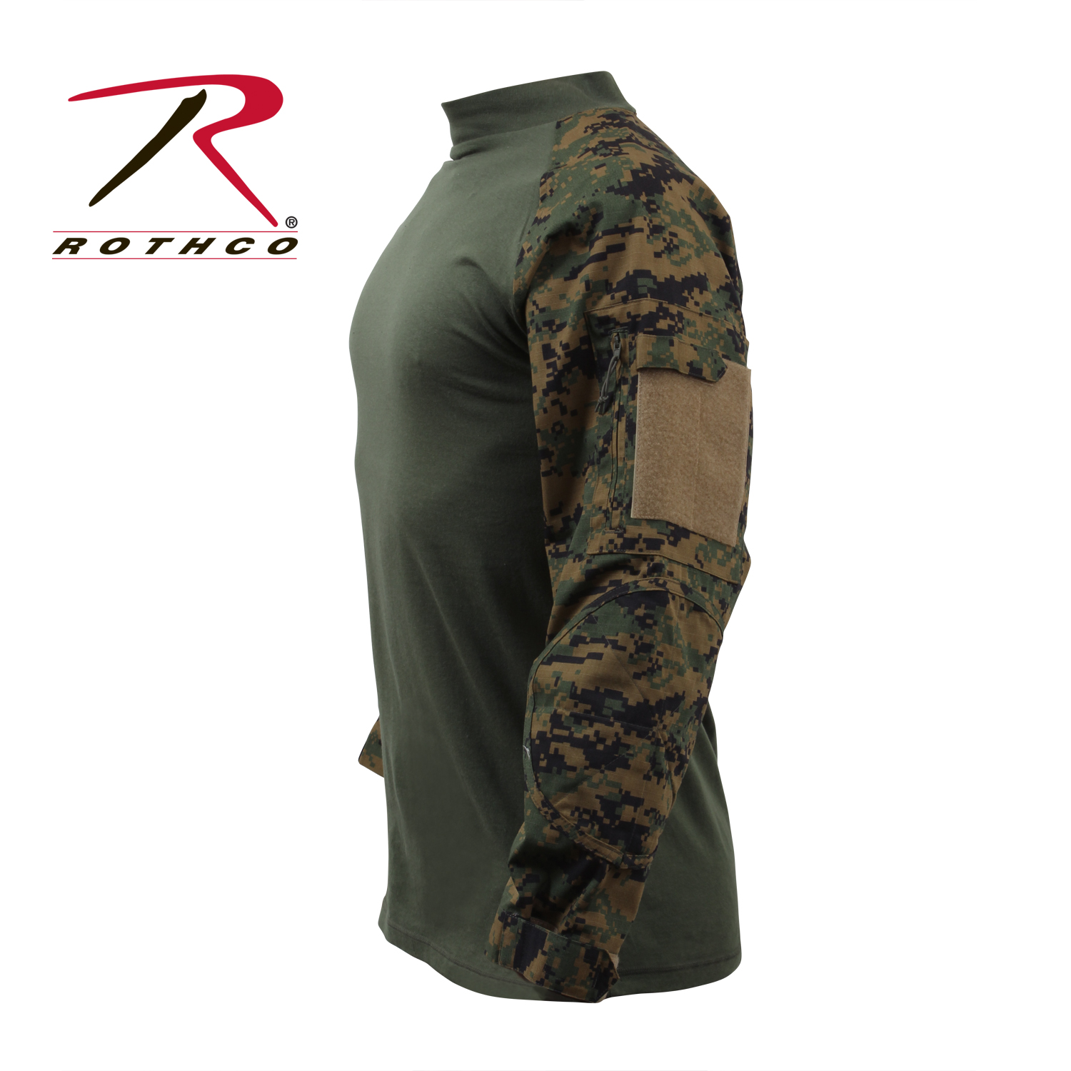 ROTHCO MILITARY COMBAT SHIRT – MARINE DIGITAL