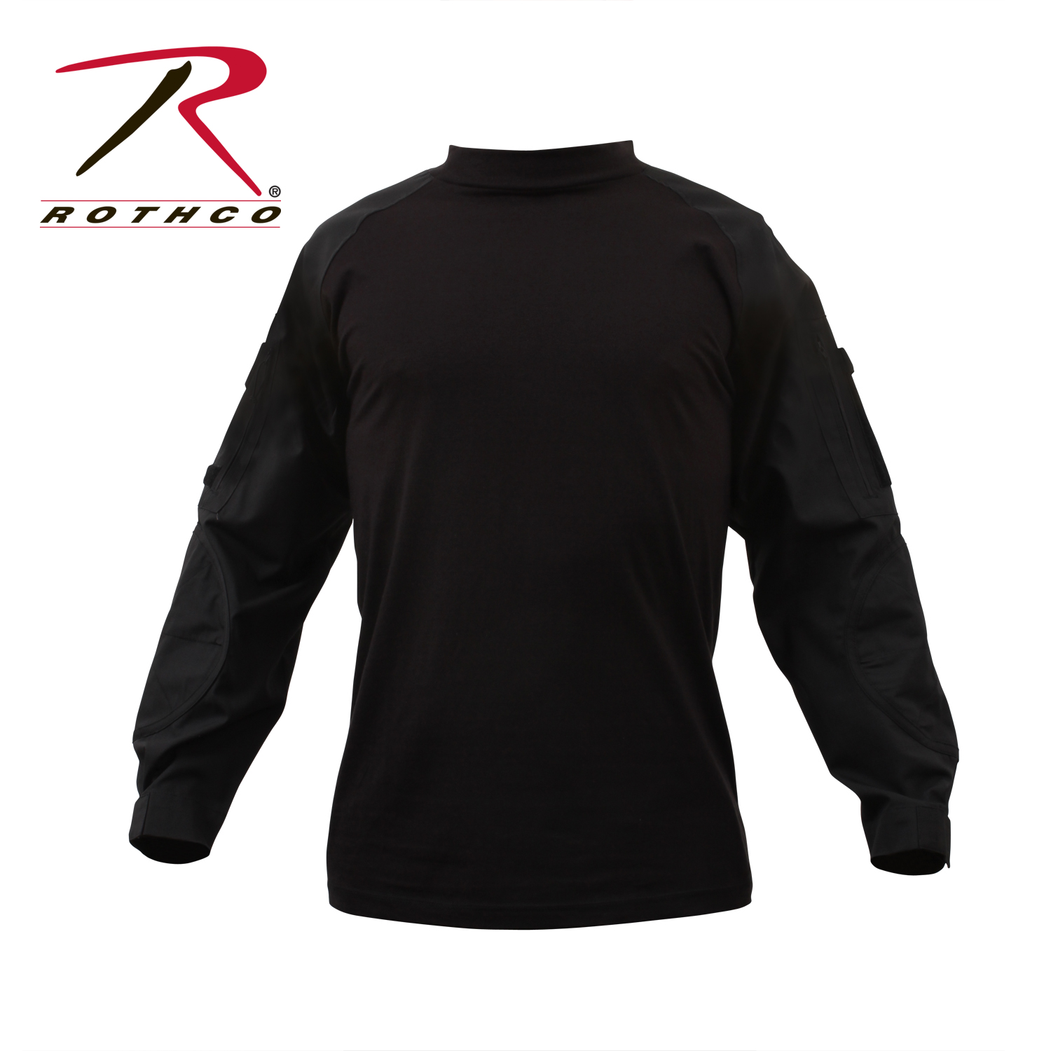ROTHCO MILITARY COMBAT SHIRT – BLACK